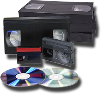 Transfer VHS to DVD