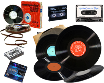 Audio Tapes and Vinyl to CD