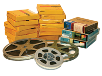 Projector Reels to DVD